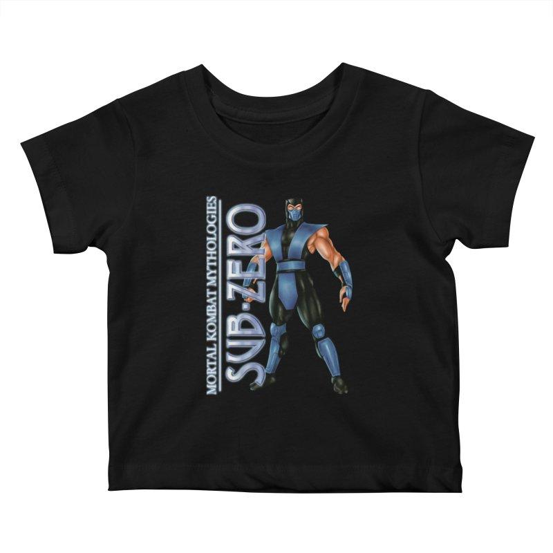 Mortal Kombat Mythologies Sub-Zero Kids Baby T-Shirt by DVCustoms's Artist Shop