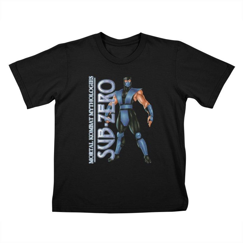 Mortal Kombat Mythologies Sub-Zero Kids T-Shirt by DVCustoms's Artist Shop