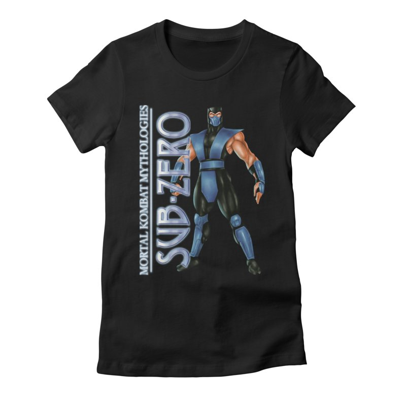 Mortal Kombat Mythologies Sub-Zero Women's Fitted T-Shirt by DVCustoms's Artist Shop