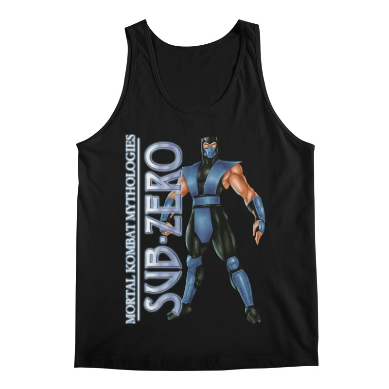 Mortal Kombat Mythologies Sub-Zero Men's Regular Tank by DVCustoms's Artist Shop