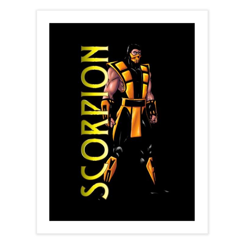 UMK3 Scorpion Home Fine Art Print by DVCustoms's Artist Shop