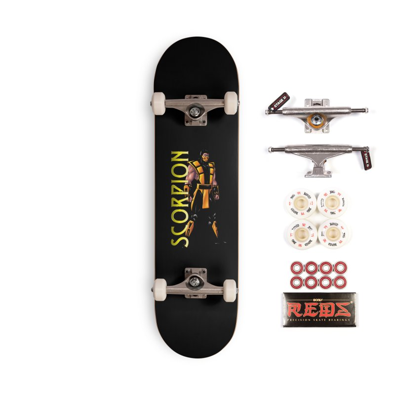 UMK3 Scorpion Accessories Complete - Pro Skateboard by DVCustoms's Artist Shop