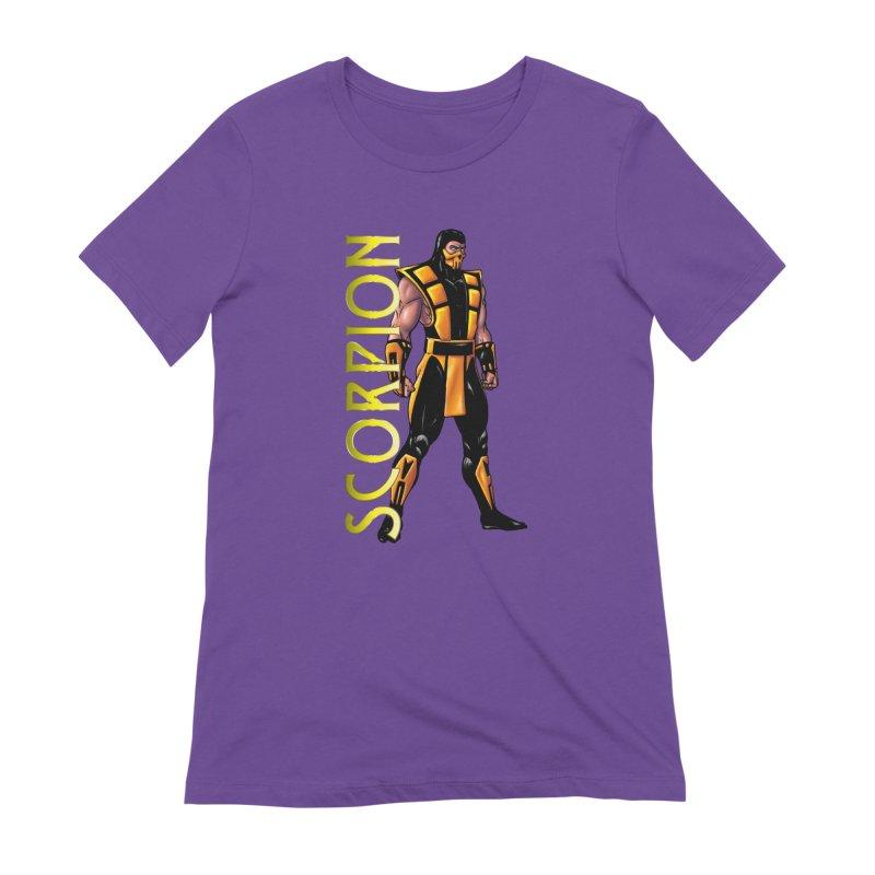 UMK3 Scorpion Women's Extra Soft T-Shirt by DVCustoms's Artist Shop