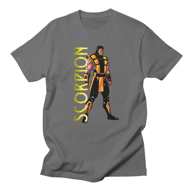 UMK3 Scorpion Men's T-Shirt by DVCustoms's Artist Shop