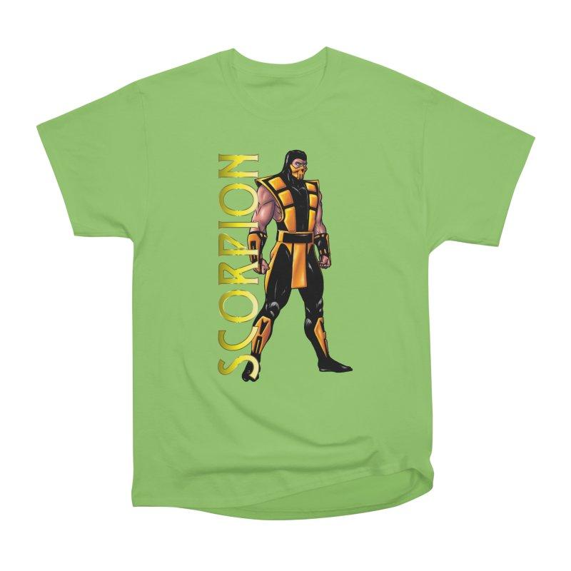 UMK3 Scorpion Women's Heavyweight Unisex T-Shirt by DVCustoms's Artist Shop