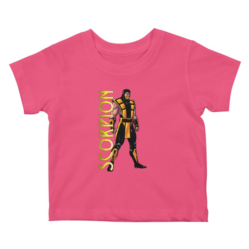 UMK3 Scorpion Kids Baby T-Shirt by DVCustoms's Artist Shop