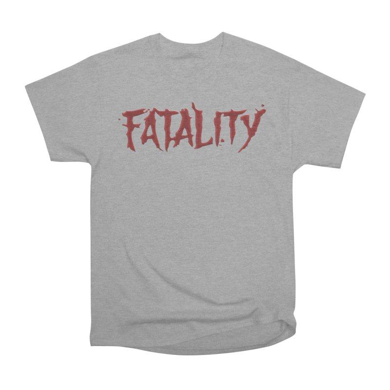 Fatality Men's Heavyweight T-Shirt by DVCustoms's Artist Shop