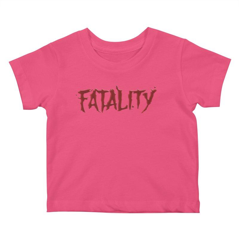 Fatality Kids Baby T-Shirt by DVCustoms's Artist Shop