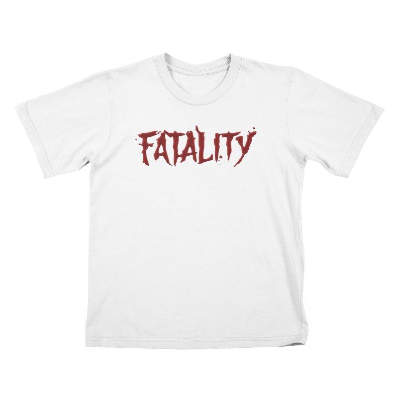 Fatality Kids T-Shirt by DVCustoms's Artist Shop