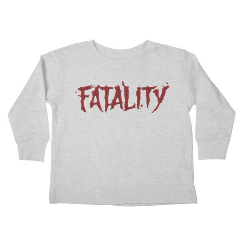 Fatality Kids Toddler Longsleeve T-Shirt by DVCustoms's Artist Shop