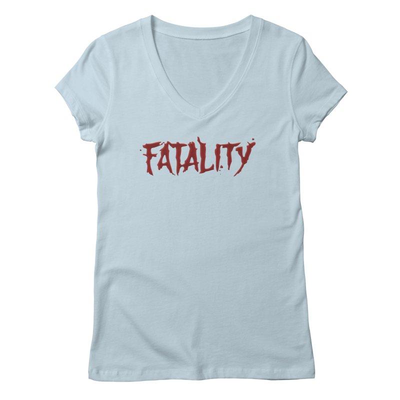 Fatality Women's Regular V-Neck by DVCustoms's Artist Shop
