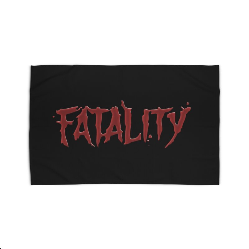 Fatality Home Rug by DVCustoms's Artist Shop