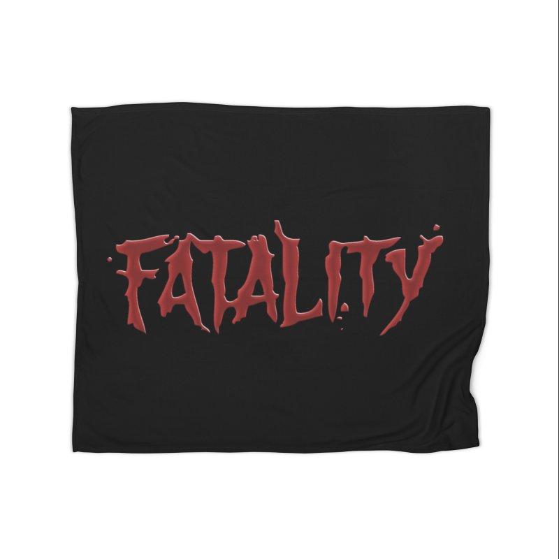 Fatality Home Fleece Blanket Blanket by DVCustoms's Artist Shop