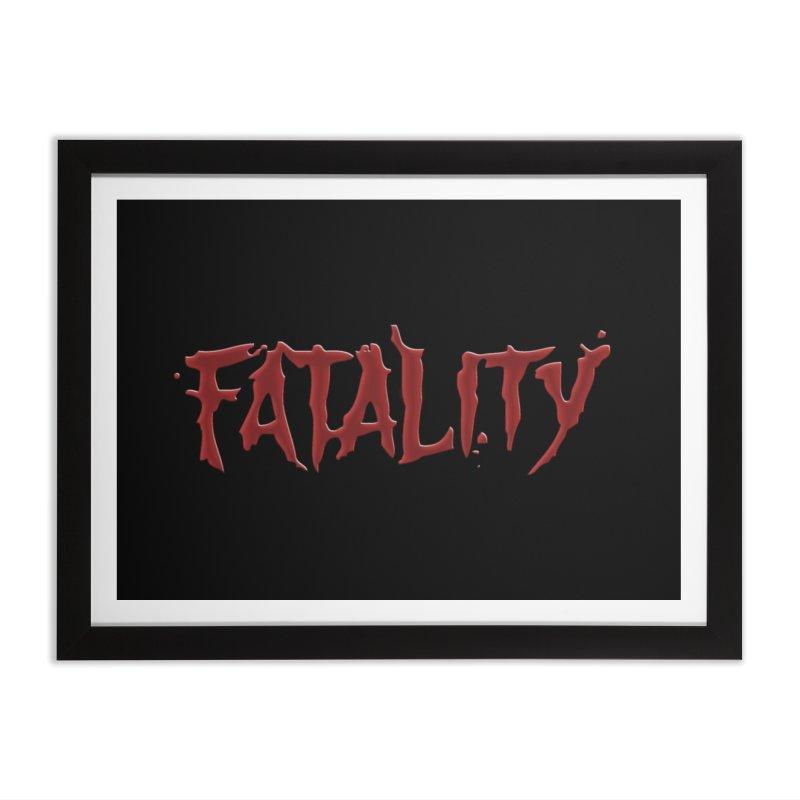 Fatality Home Framed Fine Art Print by DVCustoms's Artist Shop