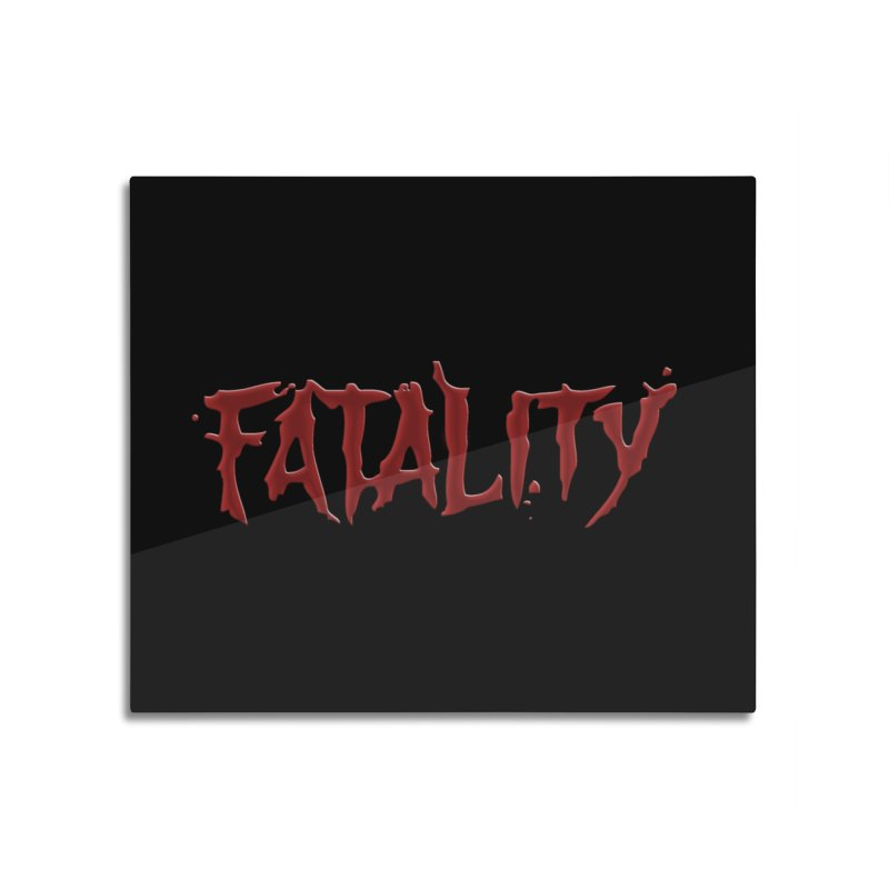 Fatality Home Mounted Aluminum Print by DVCustoms's Artist Shop