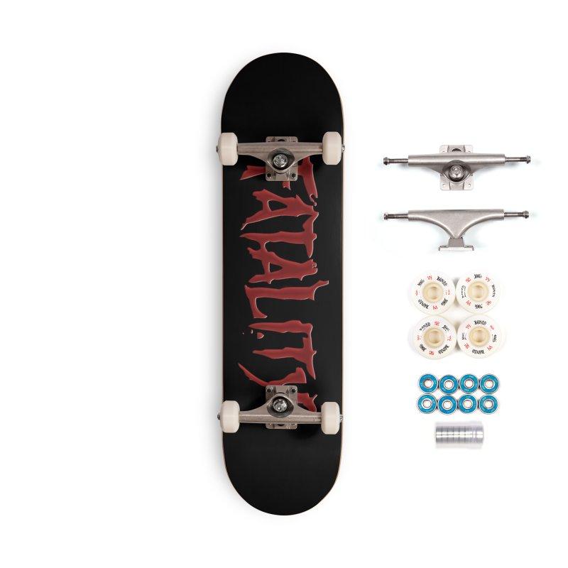Fatality Accessories Complete - Premium Skateboard by DVCustoms's Artist Shop