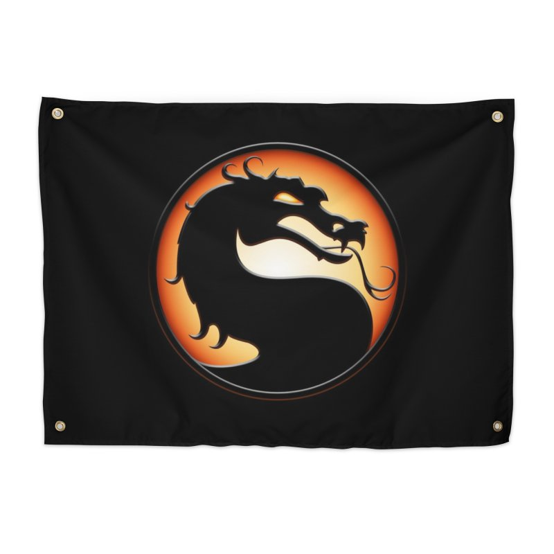 Mortal Kombat Dragon Home Tapestry by DVCustoms's Artist Shop