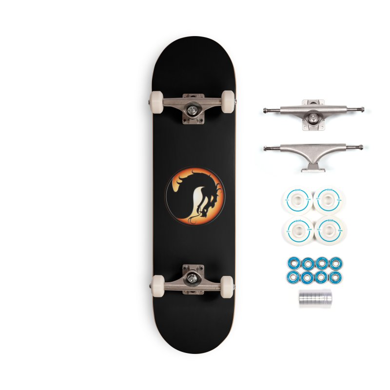Mortal Kombat Dragon Accessories Complete - Basic Skateboard by DVCustoms's Artist Shop