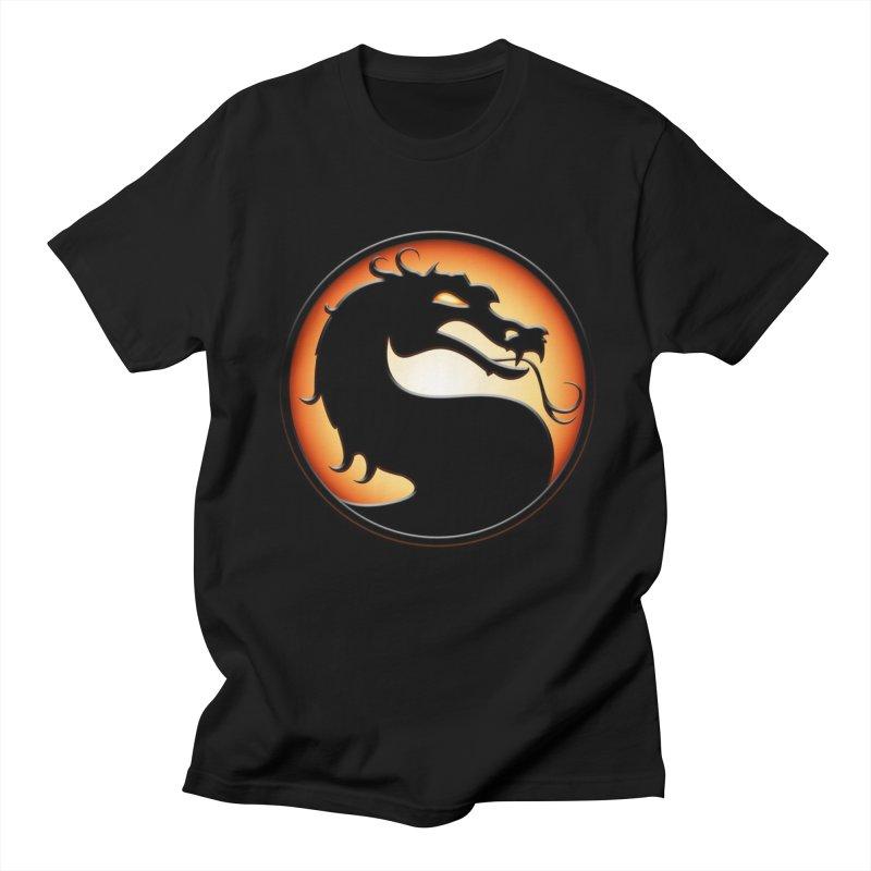 Mortal Kombat Dragon Men's T-Shirt by DVCustoms's Artist Shop