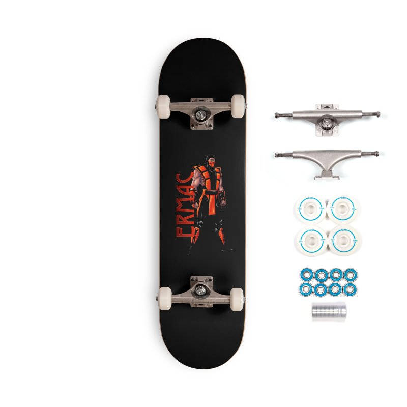UMK3 Ermac Accessories Complete - Basic Skateboard by DVCustoms's Artist Shop