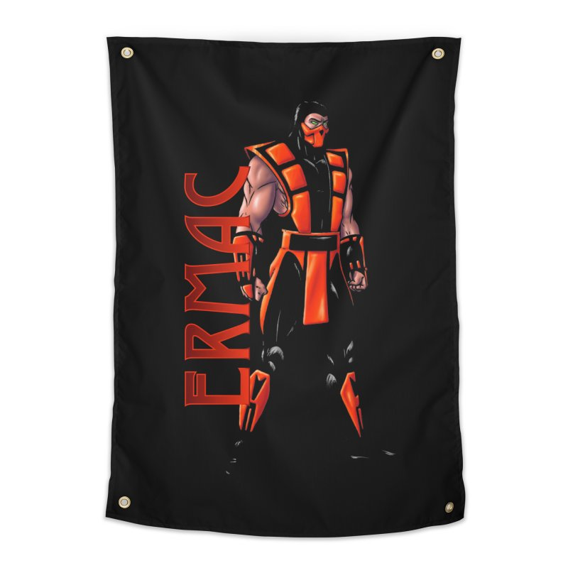 UMK3 Ermac Home Tapestry by DVCustoms's Artist Shop