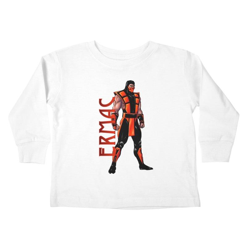 UMK3 Ermac Kids Toddler Longsleeve T-Shirt by DVCustoms's Artist Shop