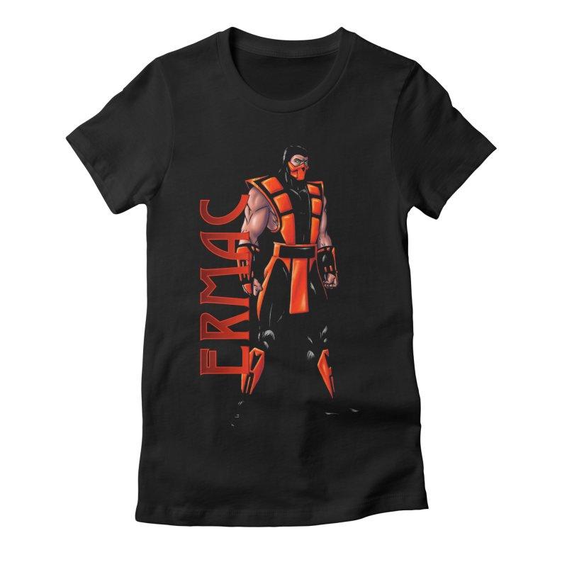 UMK3 Ermac Women's Fitted T-Shirt by DVCustoms's Artist Shop