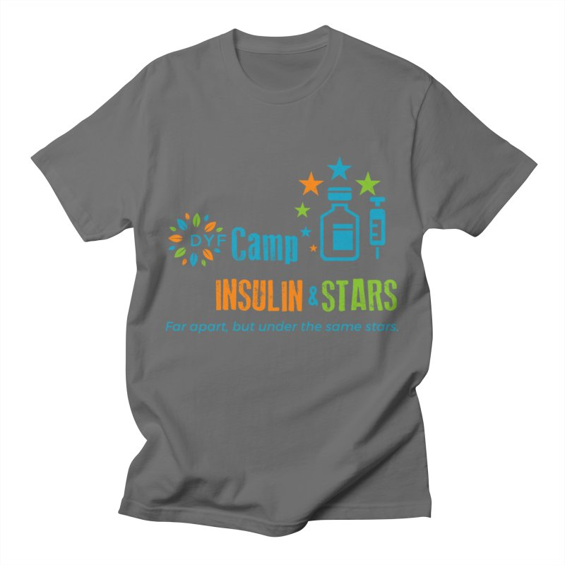 Camp Insulin & Stars Men's T-Shirt by DYF Merchandise