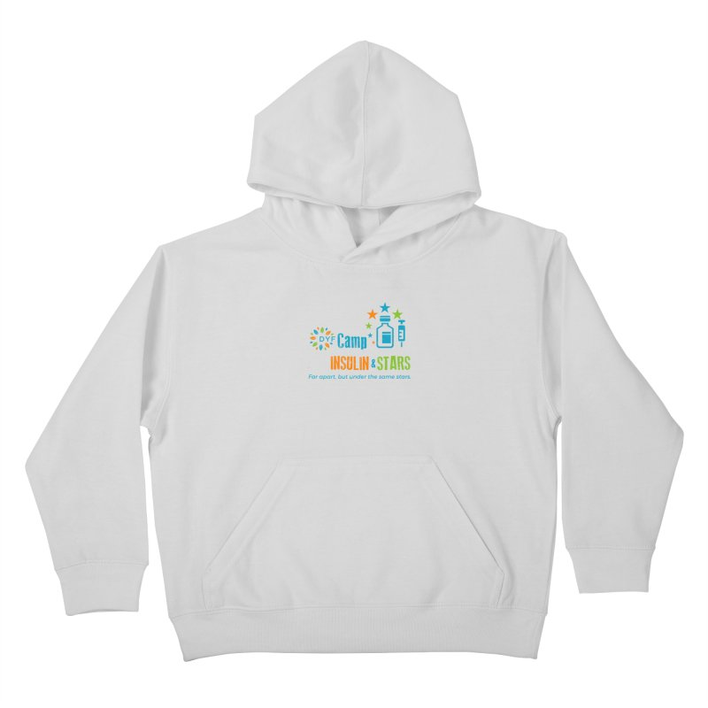 Camp Insulin & Stars Kids Pullover Hoody by DYF Merchandise