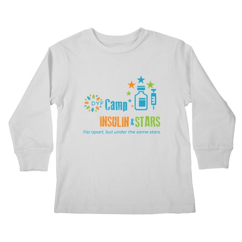 Camp Insulin & Stars Kids Longsleeve T-Shirt by DYF Merchandise