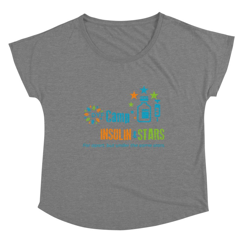Camp Insulin & Stars Women's Scoop Neck by DYF Merchandise