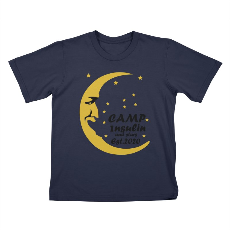 Laughing Moon Kids T-Shirt by DYF Merchandise