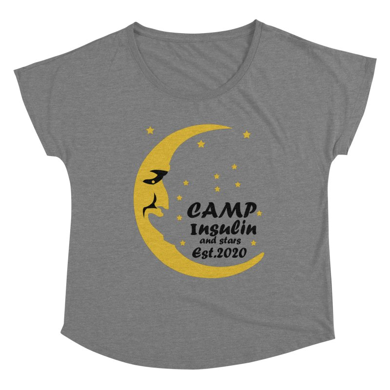 Laughing Moon Women's Scoop Neck by DYF Merchandise