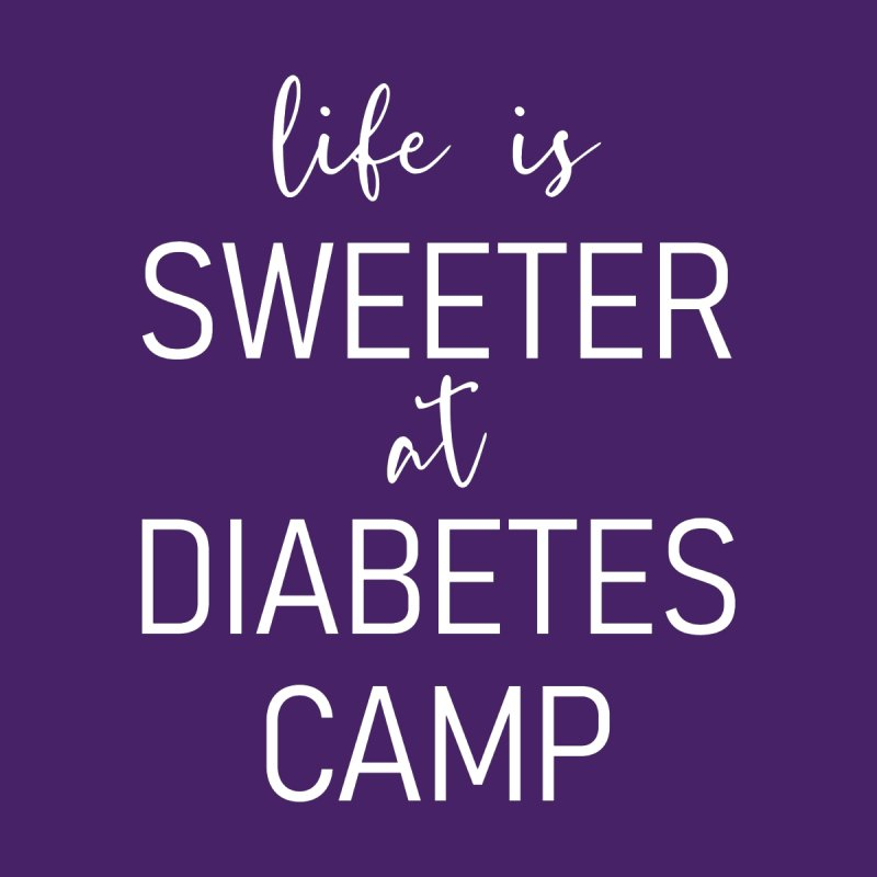Life is Sweeter at Diabetes Camp Men's T-Shirt by DYF Merchandise