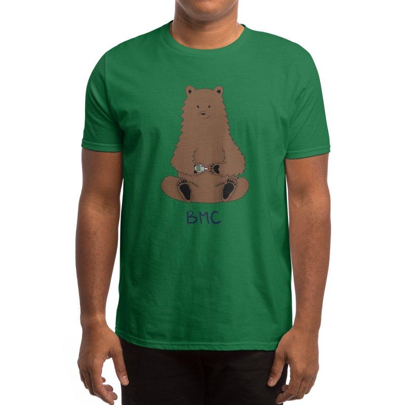 BG Bear Men's T-Shirt by DYF Merchandise
