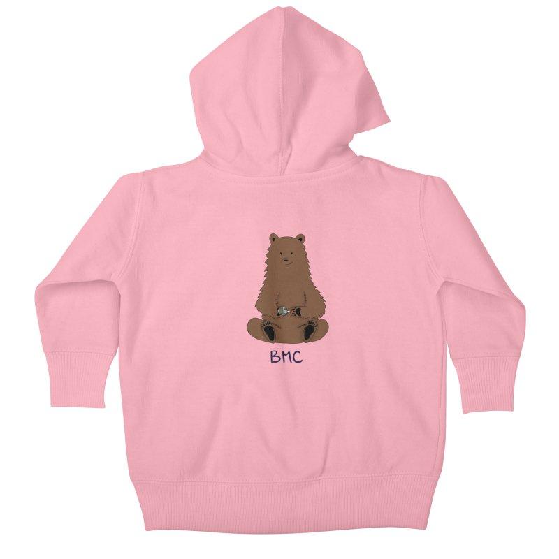 BG Bear Kids Baby Zip-Up Hoody by DYF Merchandise