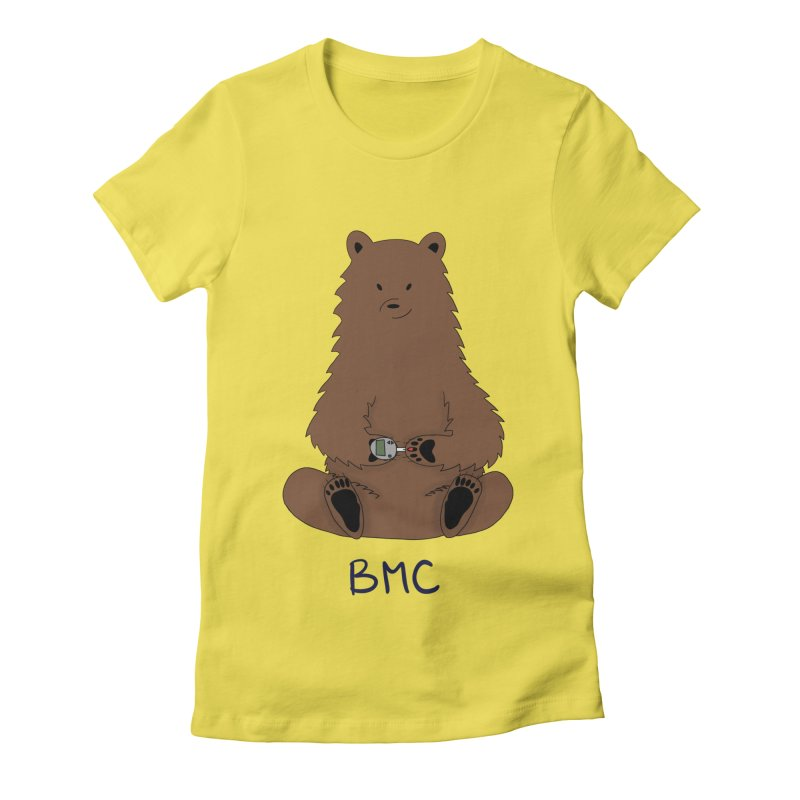 BG Bear Women's T-Shirt by DYF Merchandise