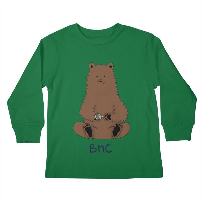 BG Bear Kids Longsleeve T-Shirt by DYF Merchandise