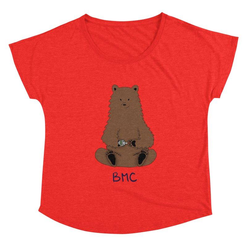 BG Bear Women's Scoop Neck by DYF Merchandise