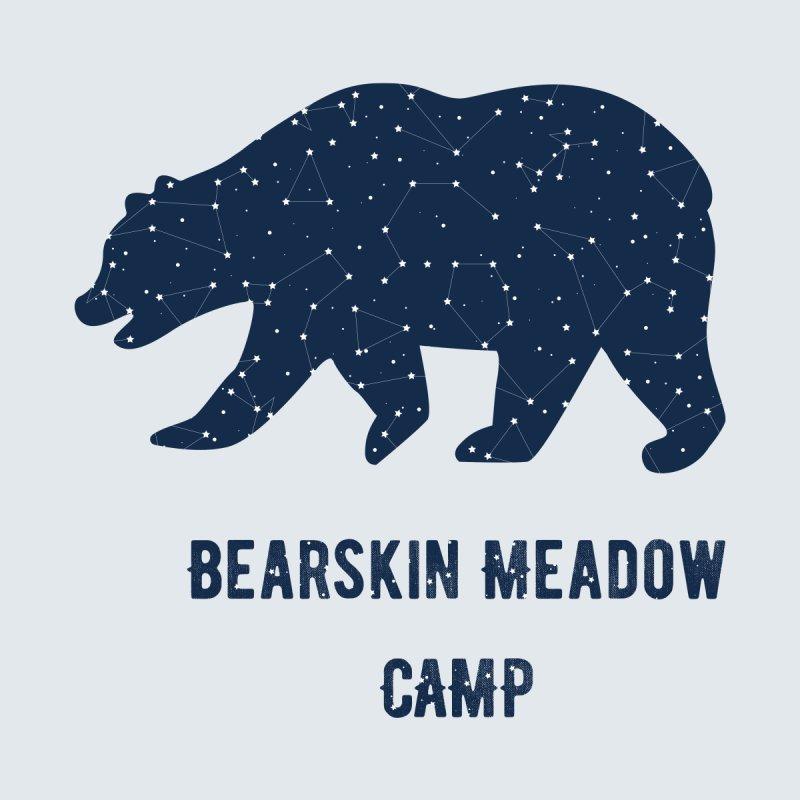 Constellation Bear Men's T-Shirt by DYF Merchandise
