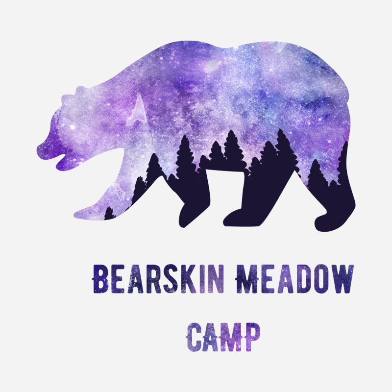 Galaxy Bear Men's T-Shirt by DYF Merchandise