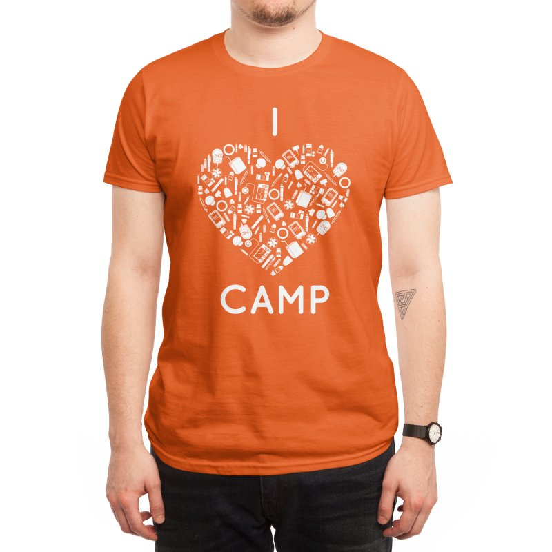 I LOVE DIABETES CAMP! Men's T-Shirt by DYF Merchandise