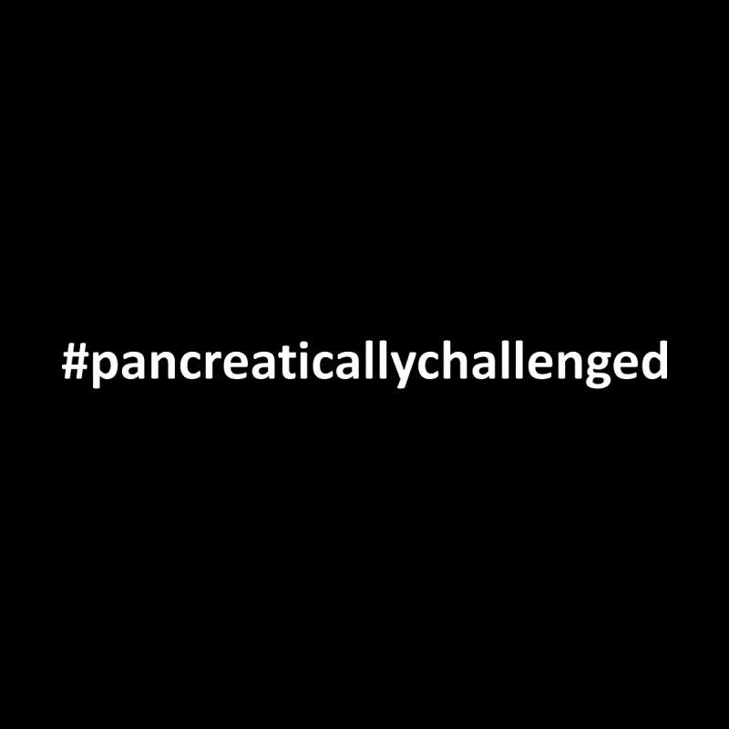 #pancreaticallychallenged Men's T-Shirt by DYF Merchandise