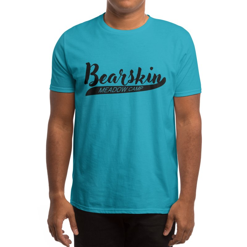 Bearskin Baseball T Men's T-Shirt by DYF Merchandise
