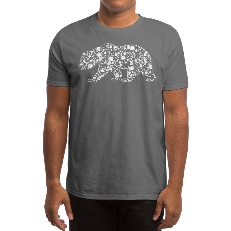 Diabetes Supply Bear Men's T-Shirt by DYF Merchandise
