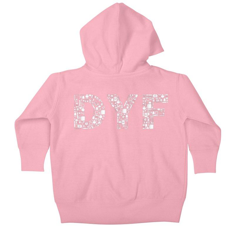 Diabetes Supplies DYF Kids Baby Zip-Up Hoody by DYF Merchandise