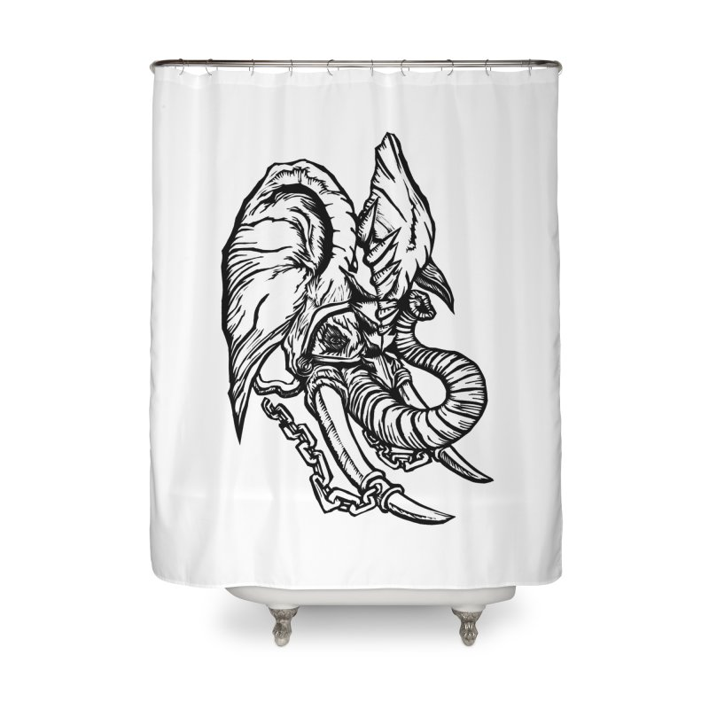 Baku Home Shower Curtain by DaNkJiMz