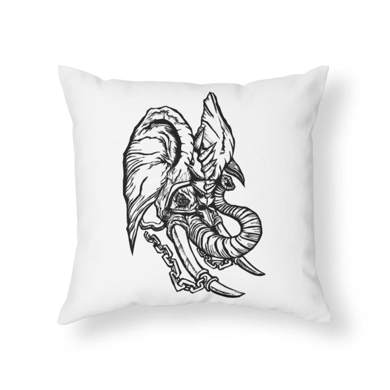 Baku Home Throw Pillow by DaNkJiMz
