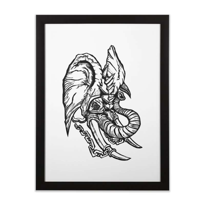 Baku Home Framed Fine Art Print by DaNkJiMz
