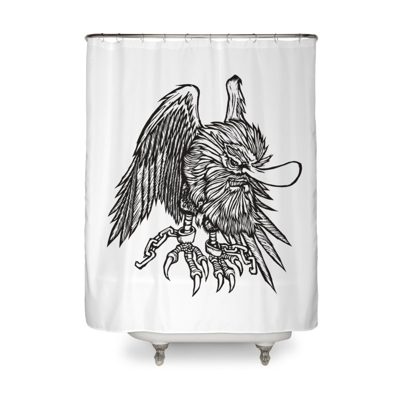 Tengu Home Shower Curtain by DaNkJiMz